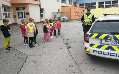 Učni sprehod s policistom